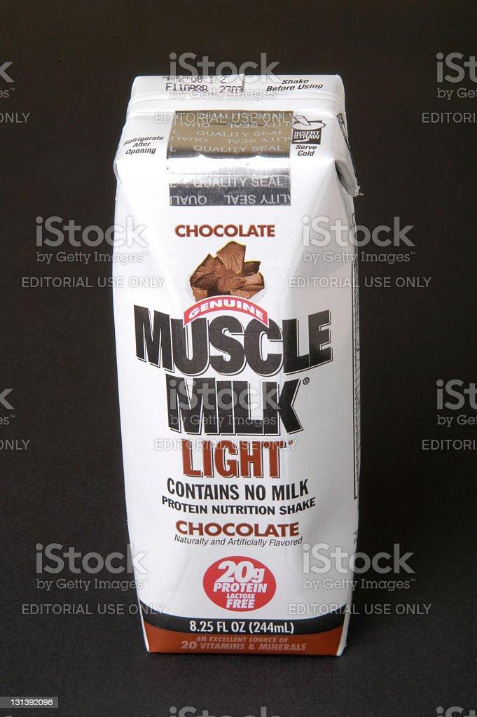 Muscle Milk stock photo