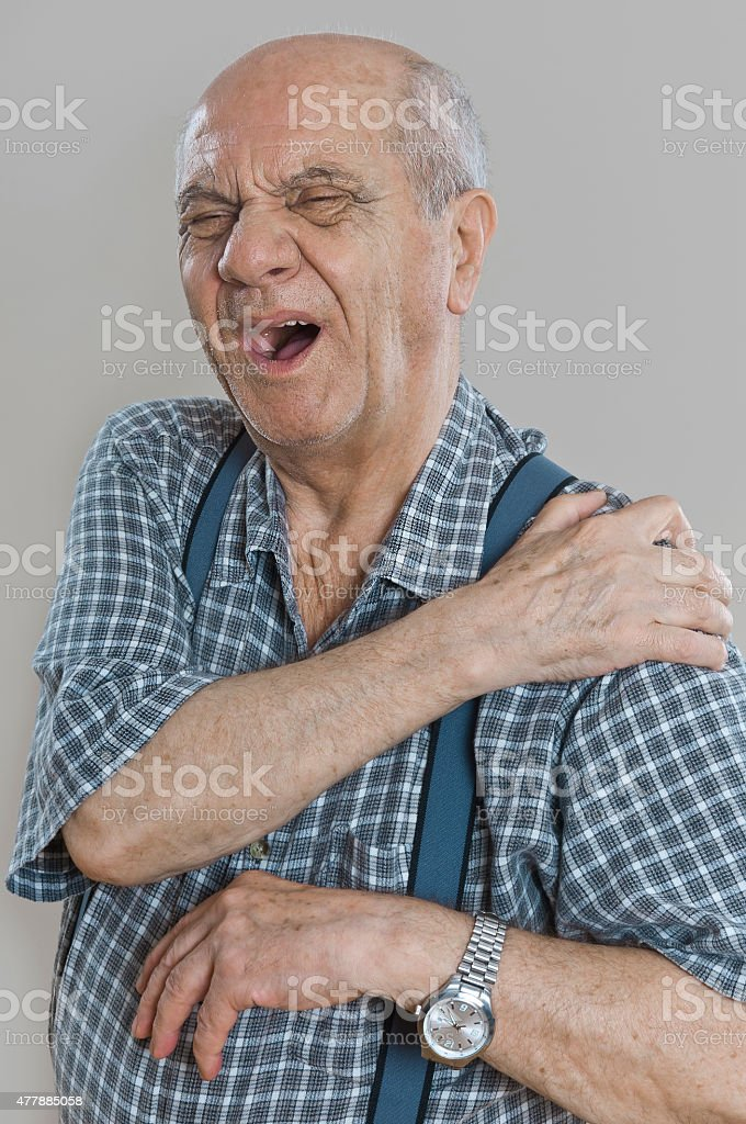 Muscles pain stock photo