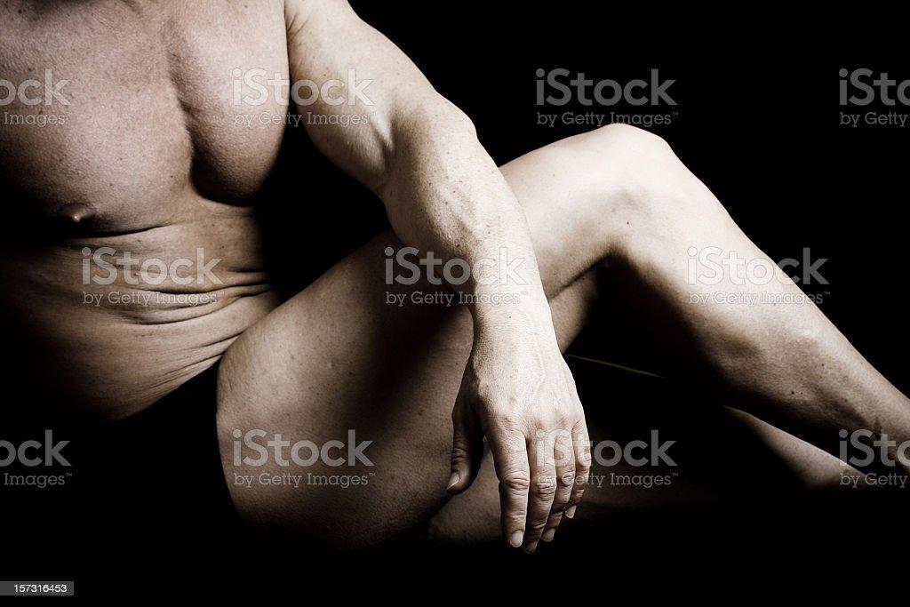 Muscula Body Builder stock photo