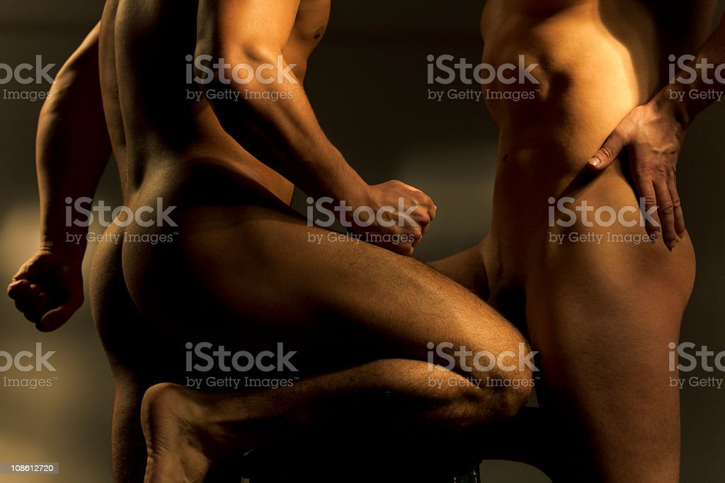 muscular male torses royalty-free stock photo