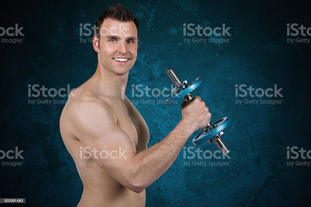 Muscular Men royalty-free stock photo