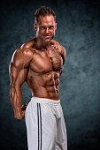 Muscular Mne Flexing Muscles