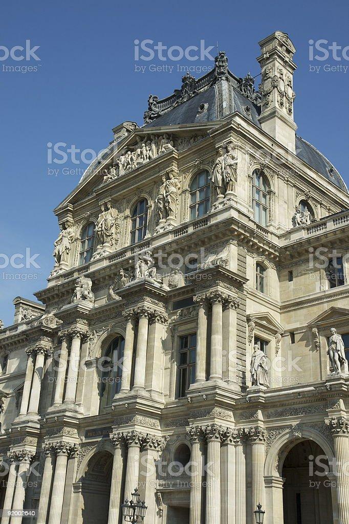Musée du Louvre à Paris stock photo