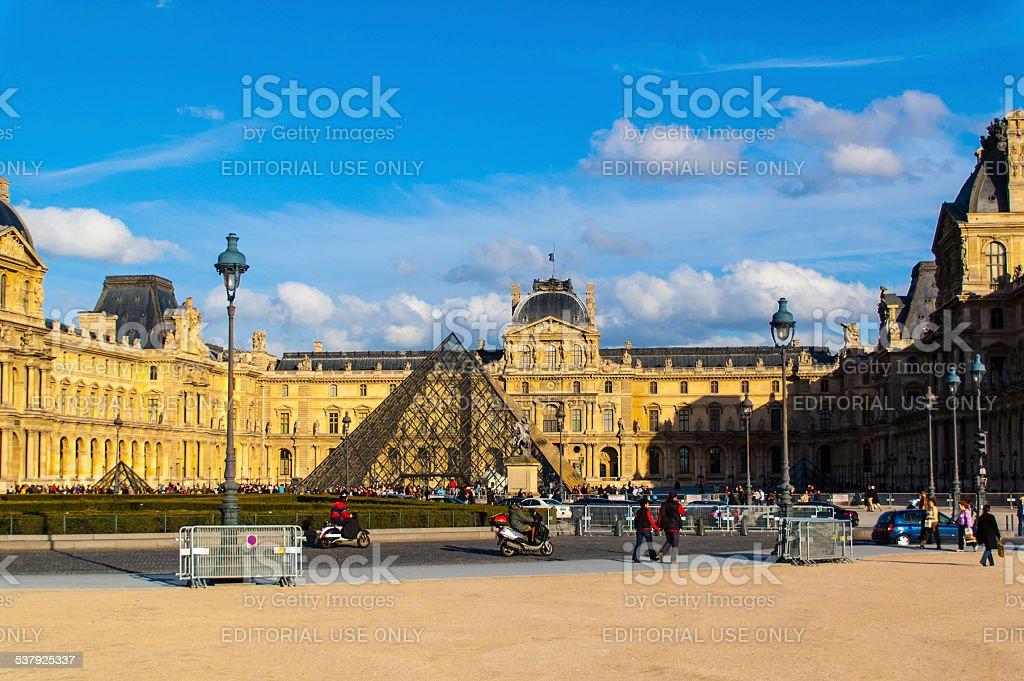 Musée du Louvre stock photo