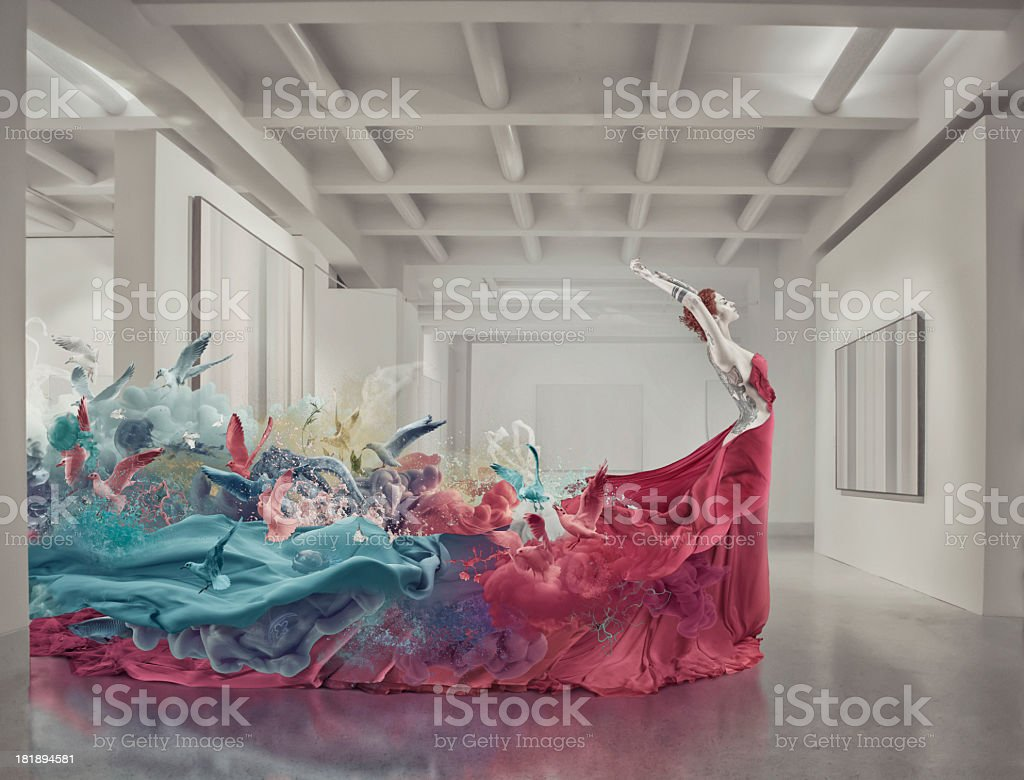 muse royalty-free stock photo