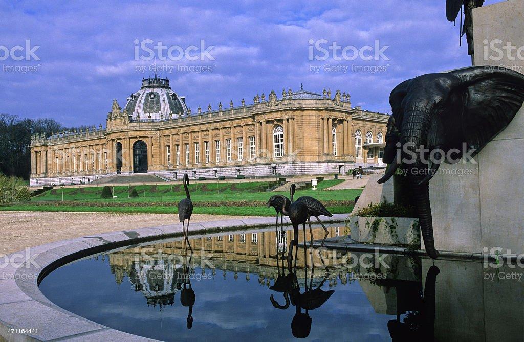 Musée Royal de l'Afrique Centrale royalty-free stock photo