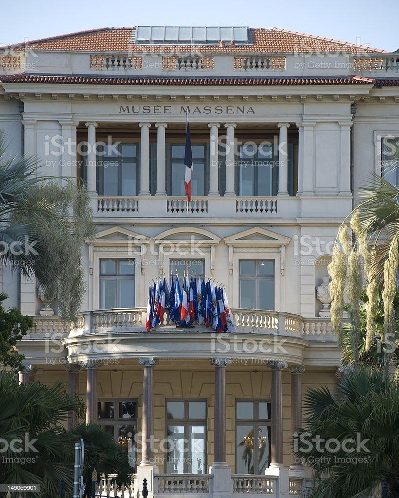 Musee massena in Nice royalty-free stock photo