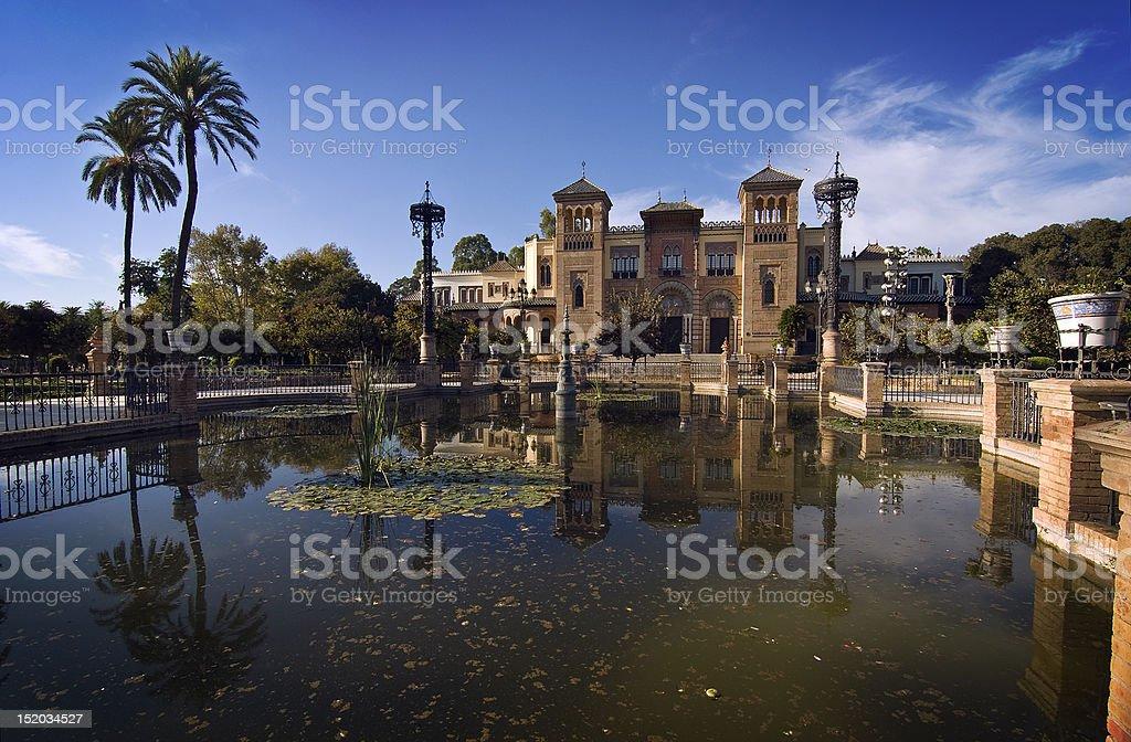 Museo de Artes y Costumbres Populares royalty-free stock photo