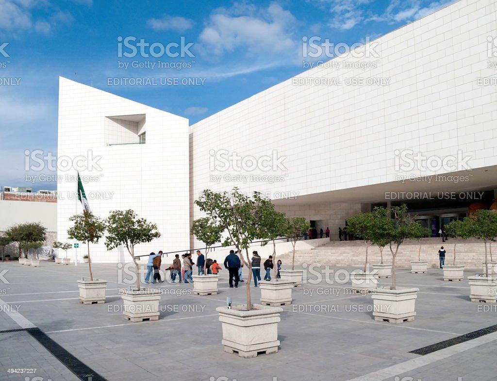 Museo de Hisotria Mexicana, Monterrey stock photo