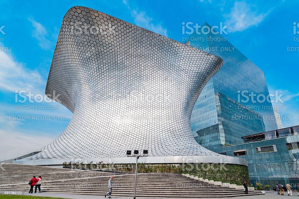 Museo Soumaya in Mexico City Mexico stock photo