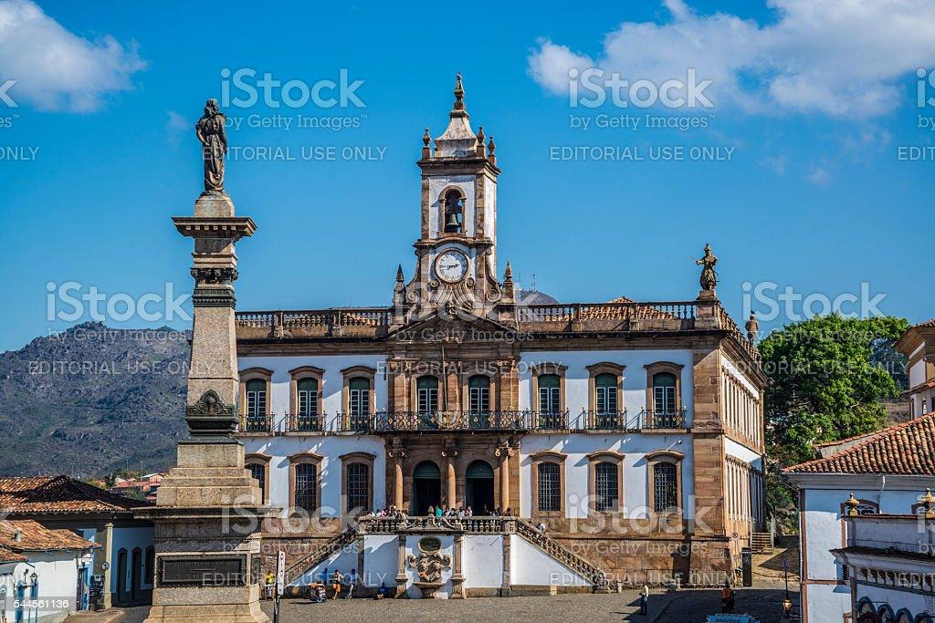 Museu da Inconfidência, Ouro Preto, Minas Gerais, Brazil stock photo