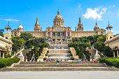 Museu Nacional d'Art de Catalunya in Barcelona Spain