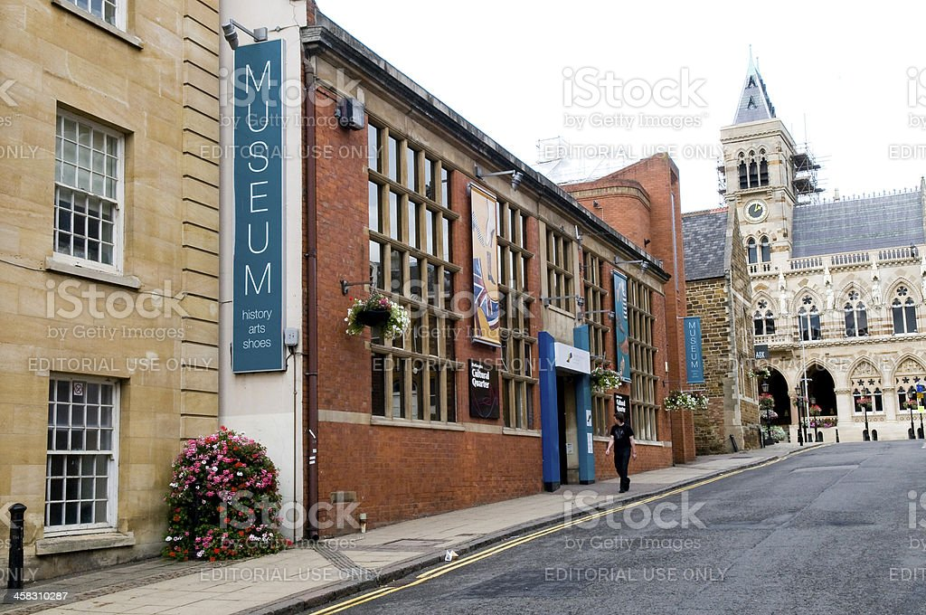 Museum and Art Gallery Cultral Quater stock photo