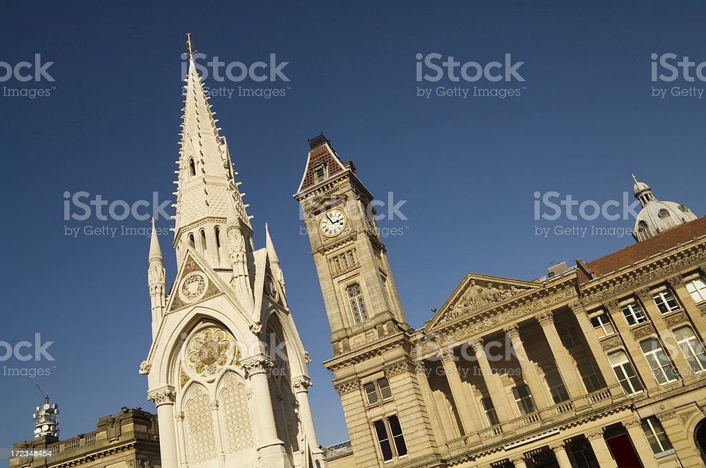 Museum and Art Gallery in Birmingham West Midlands royalty-free stock photo