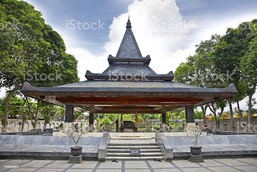 Museum and  library of Indonesia's 1st president Bung Karno,  Ja royalty-free stock photo