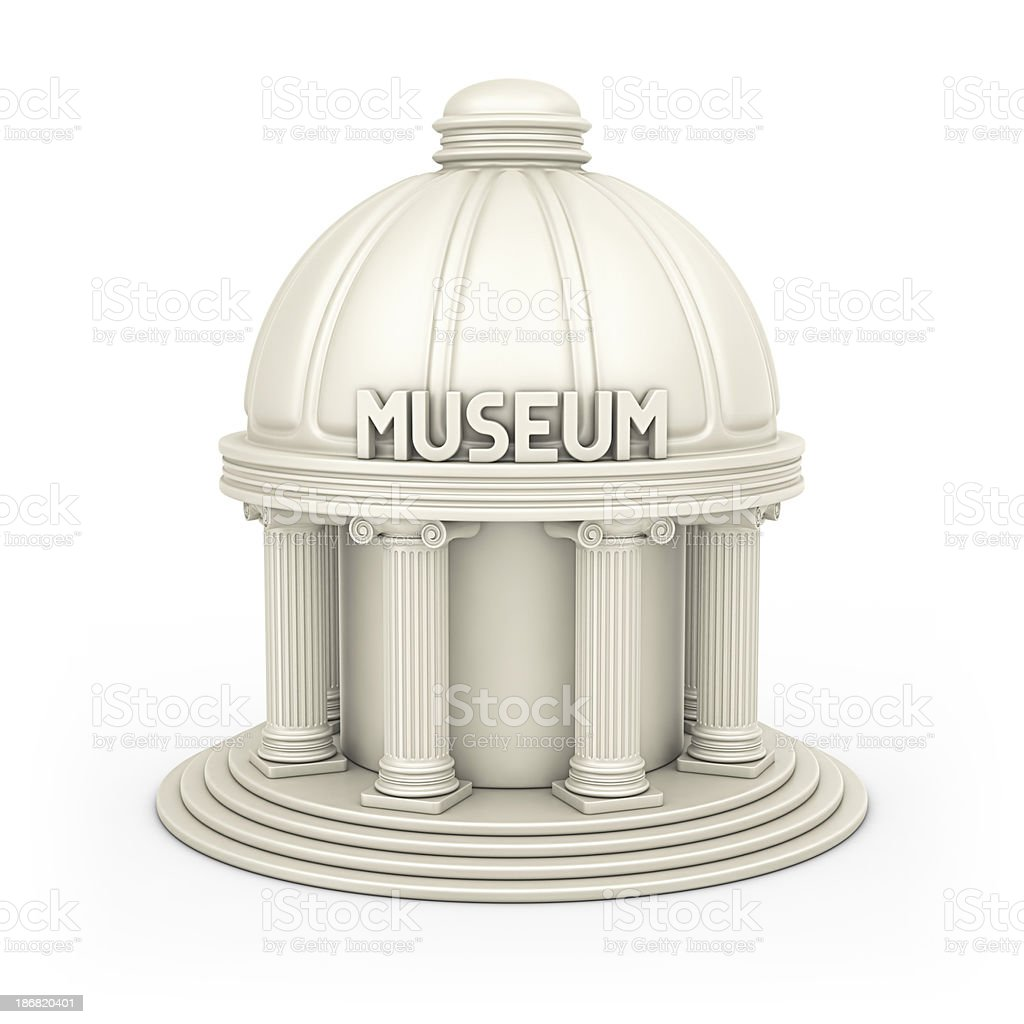 museum building stock photo