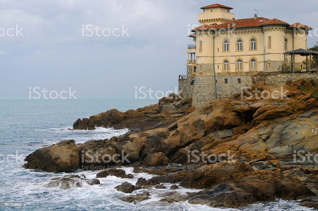 Museum by the Sea royalty-free stock photo