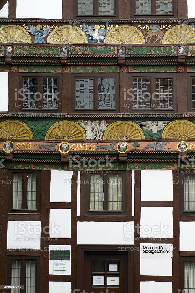 Museum for town history in Paderborn stock photo