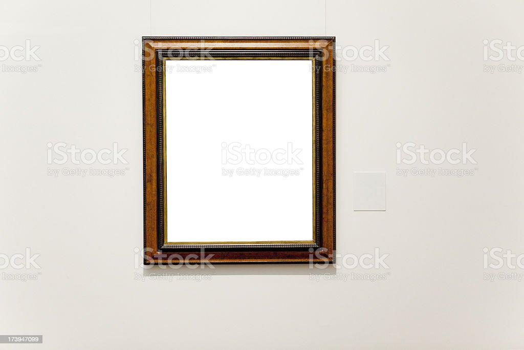 Museum Frame royalty-free stock photo