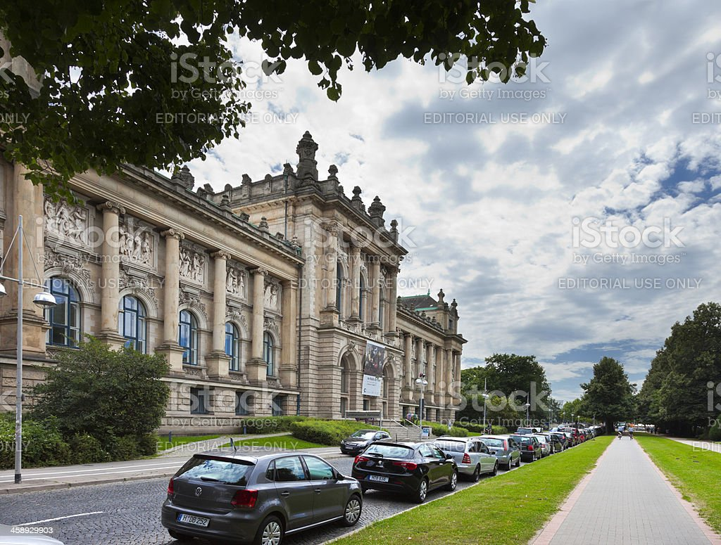 Museum Hannover royalty-free stock photo