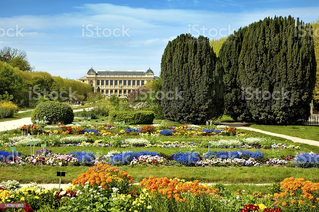 Museum in Paris royalty-free stock photo