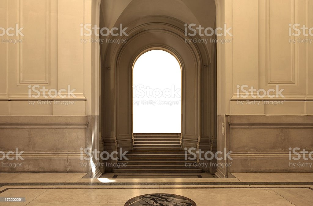 Museum Interior royalty-free stock photo