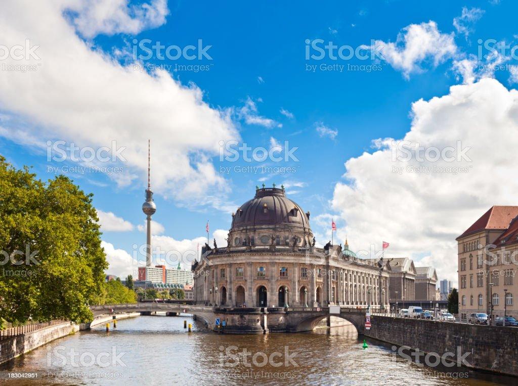 Museum Island, Berlin royalty-free stock photo