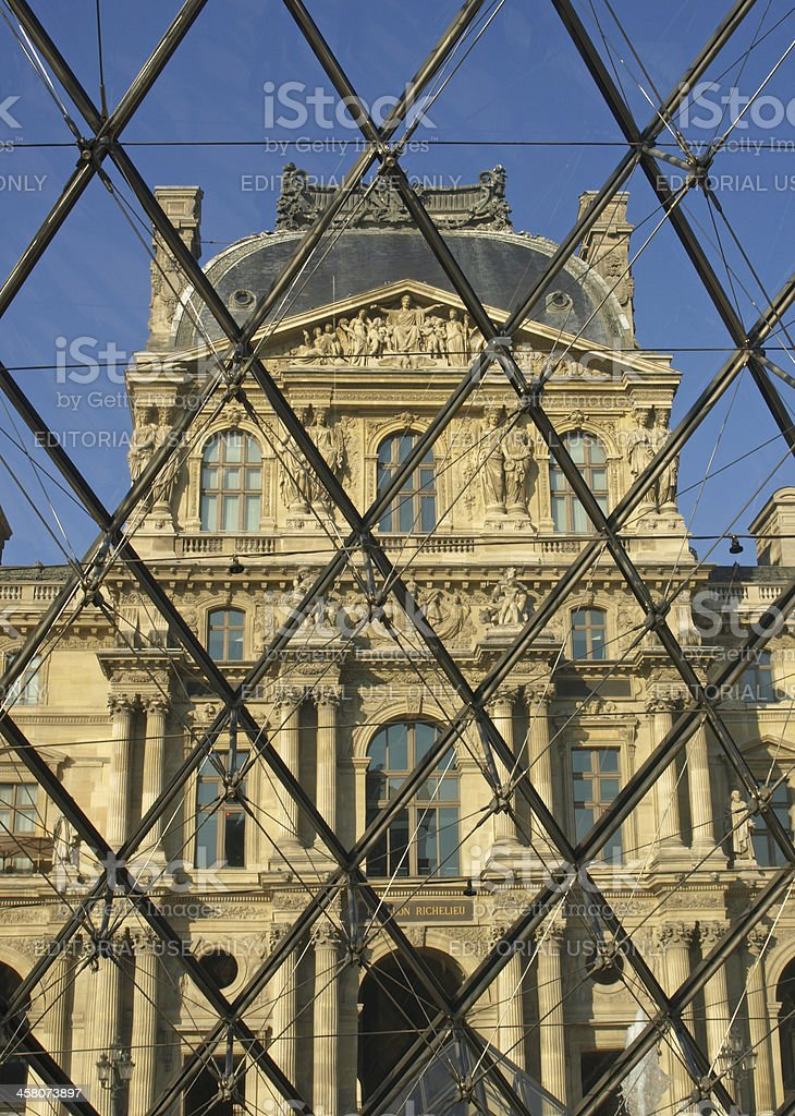 Museum Louvre stock photo