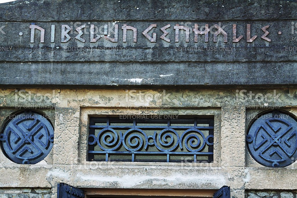 Museum Nibelungenhalle royalty-free stock photo