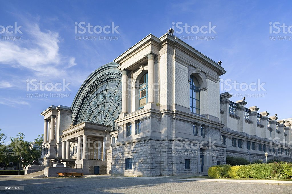 Museum of army history in Brussels stock photo