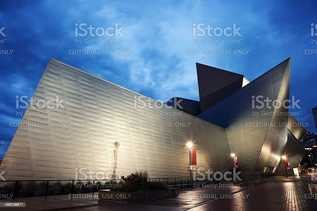 Museum of Art, Colorado stock photo