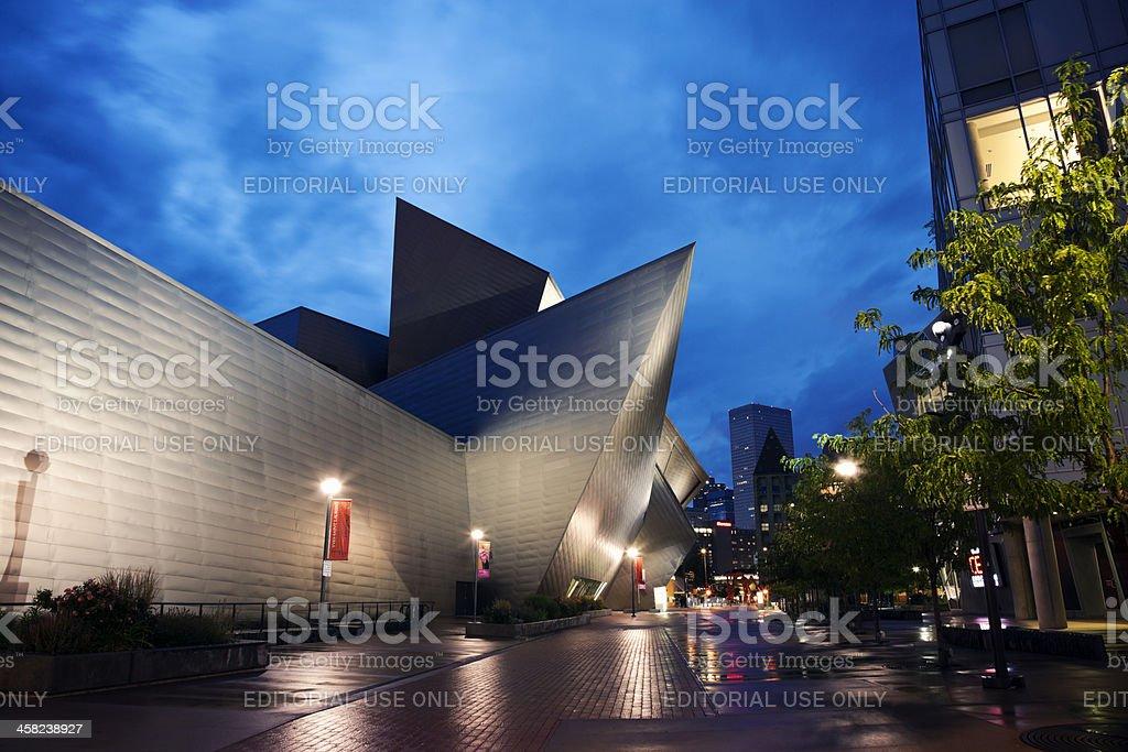 Museum of Art, Denver stock photo