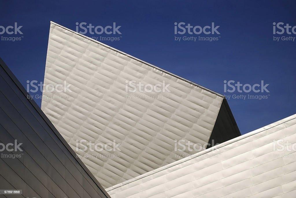 Museum of Art Denver stock photo