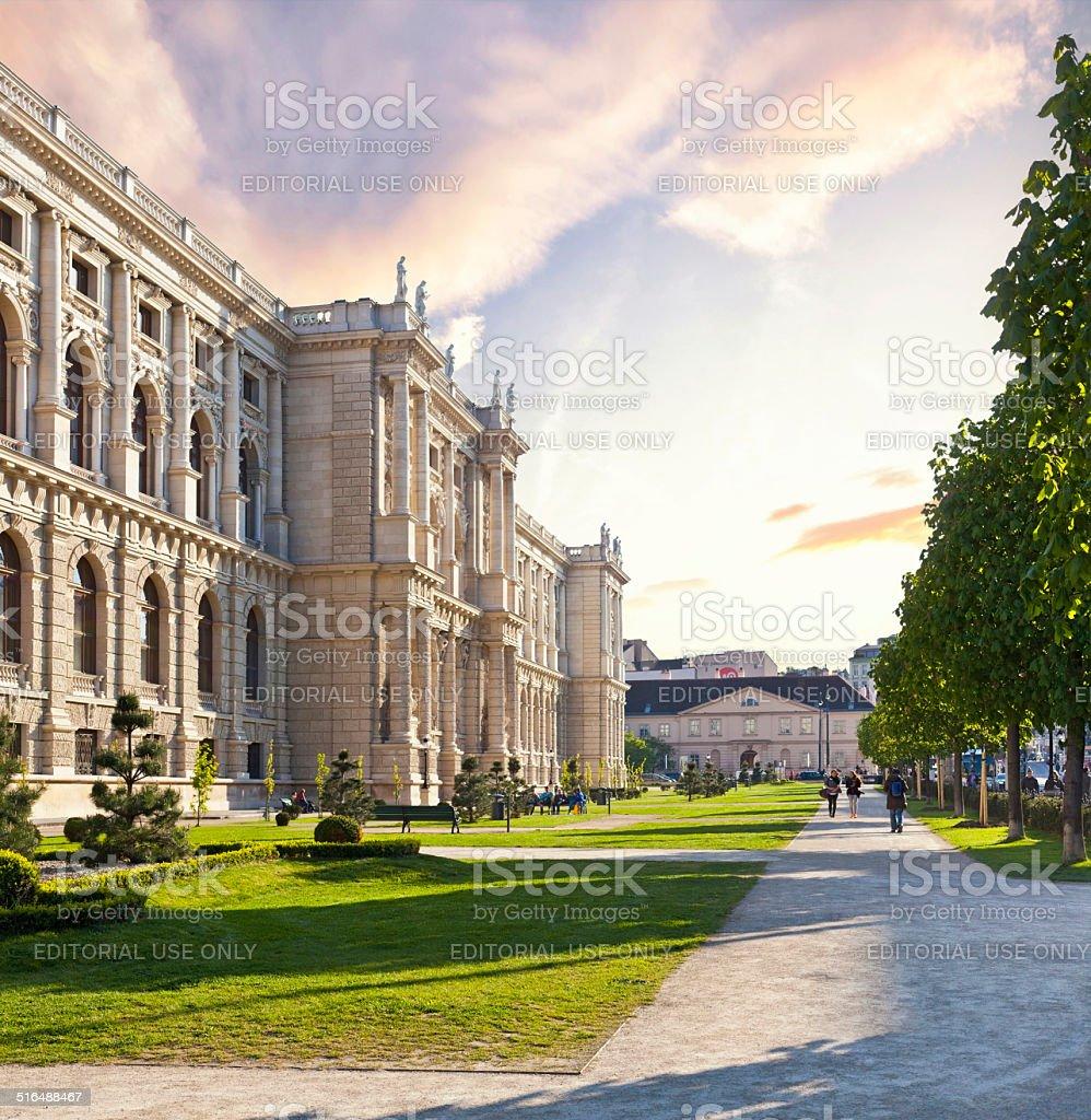 Museum of Art History in Vienna - Austria stock photo