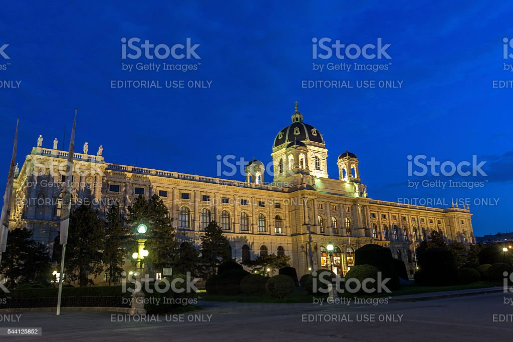 Museum of Art History in Vienna in Austria stock photo