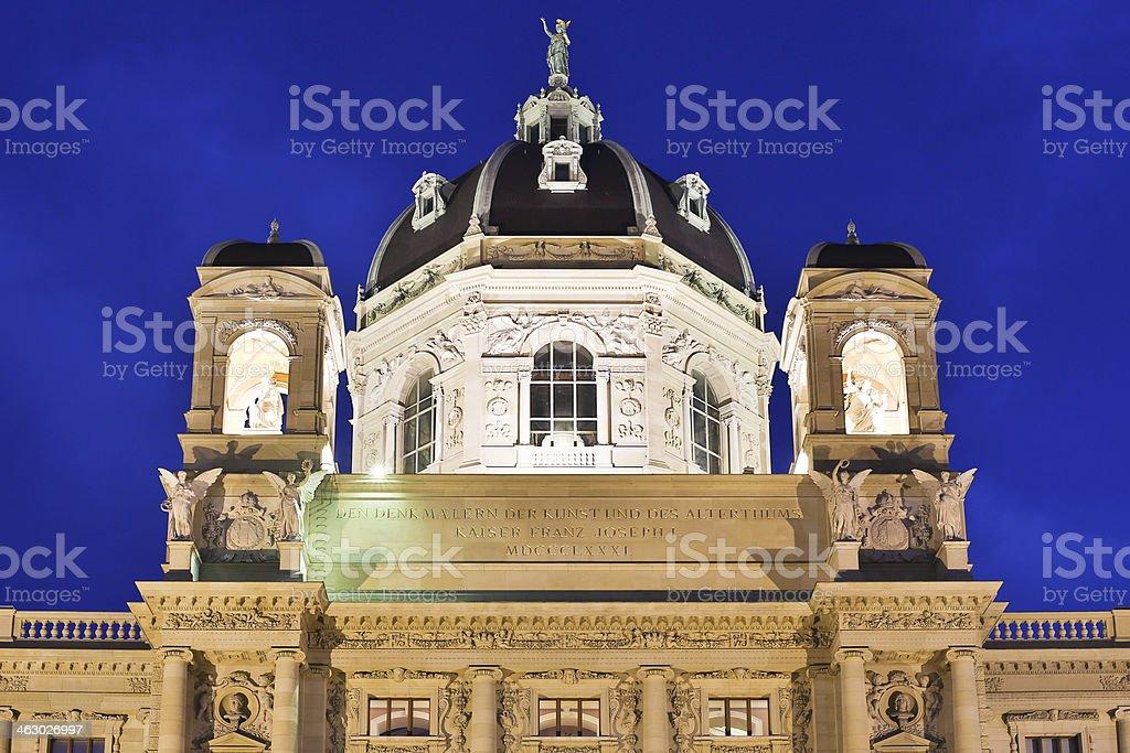 Museum of Art History Vienna stock photo