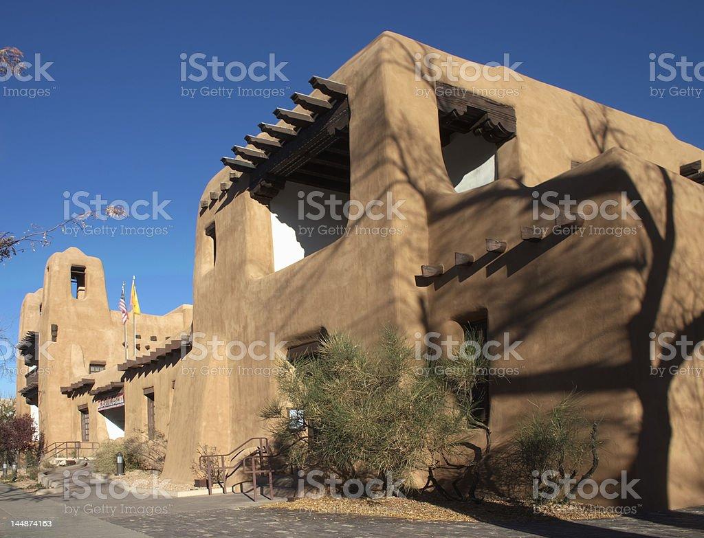 Museum of Art in Santa Fe stock photo