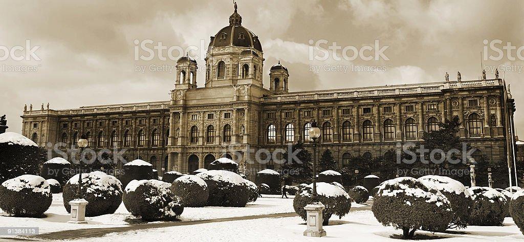 Museum of Fine Arts in Vienna stock photo