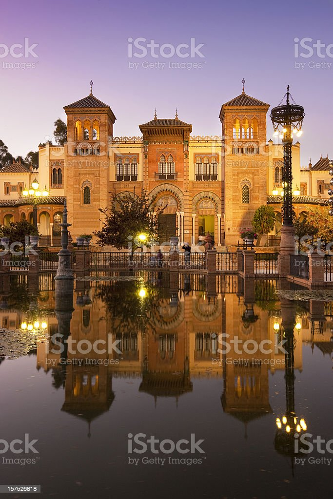 Museo de Artes y Costumbres Populares stock photo