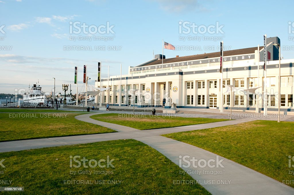 Museum of History and Industry royalty-free stock photo
