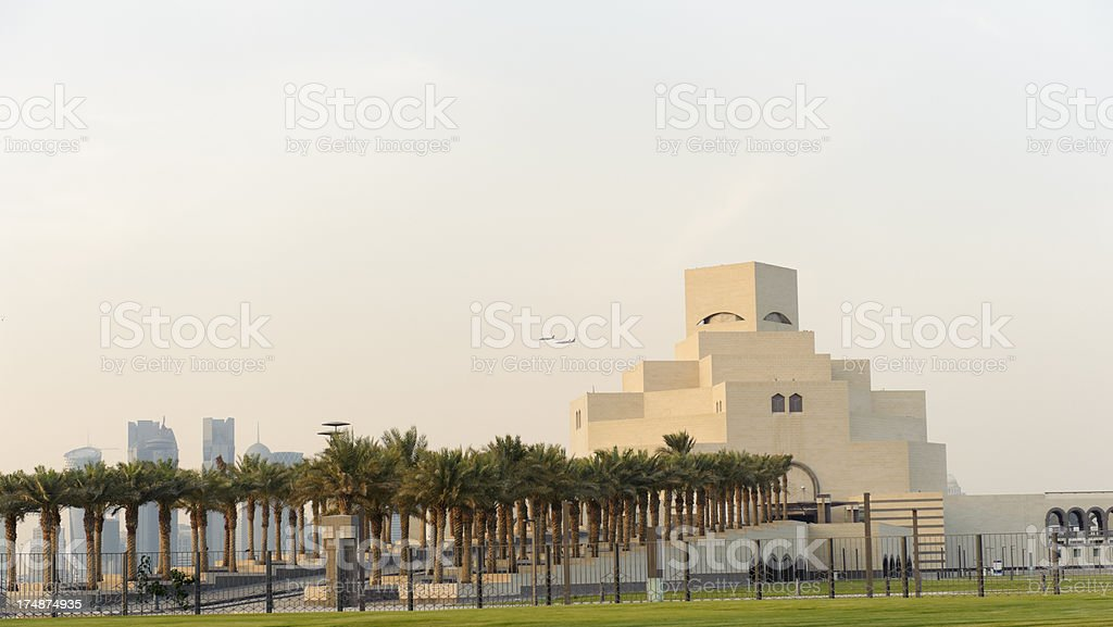 museum of Islamic Art in Doha, Qatar royalty-free stock photo