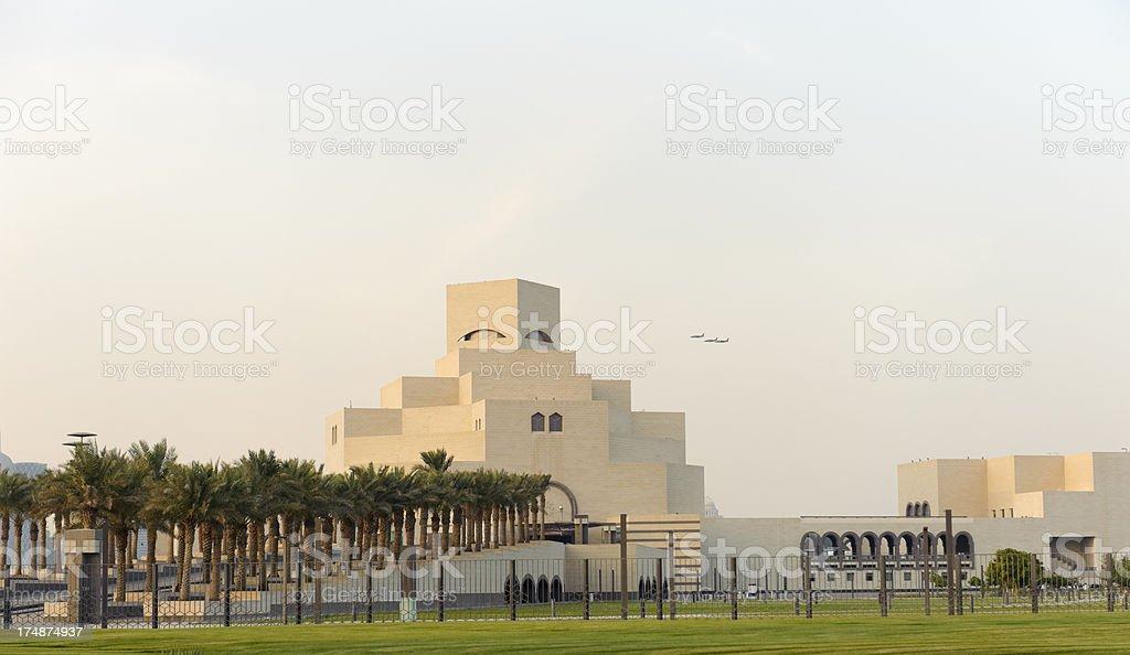 museum of Islamic Art in Doha, Qatar royalty-free stock photo