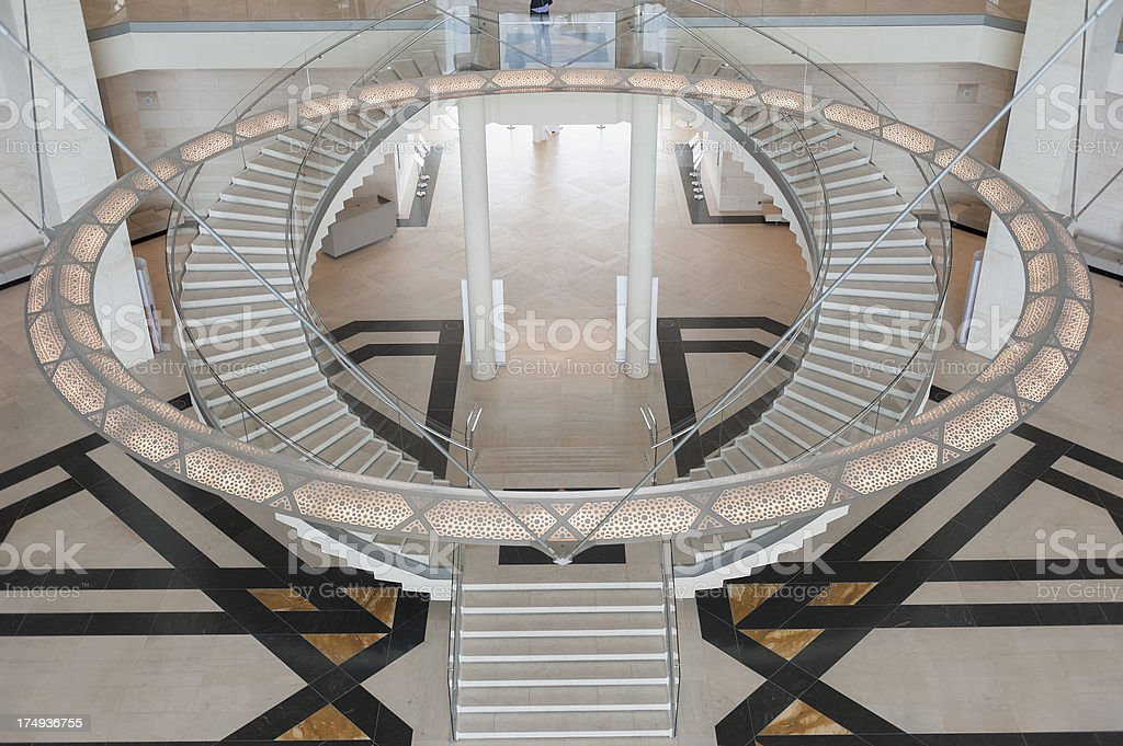 museum of Islamic Art in Doha, Qatar stock photo