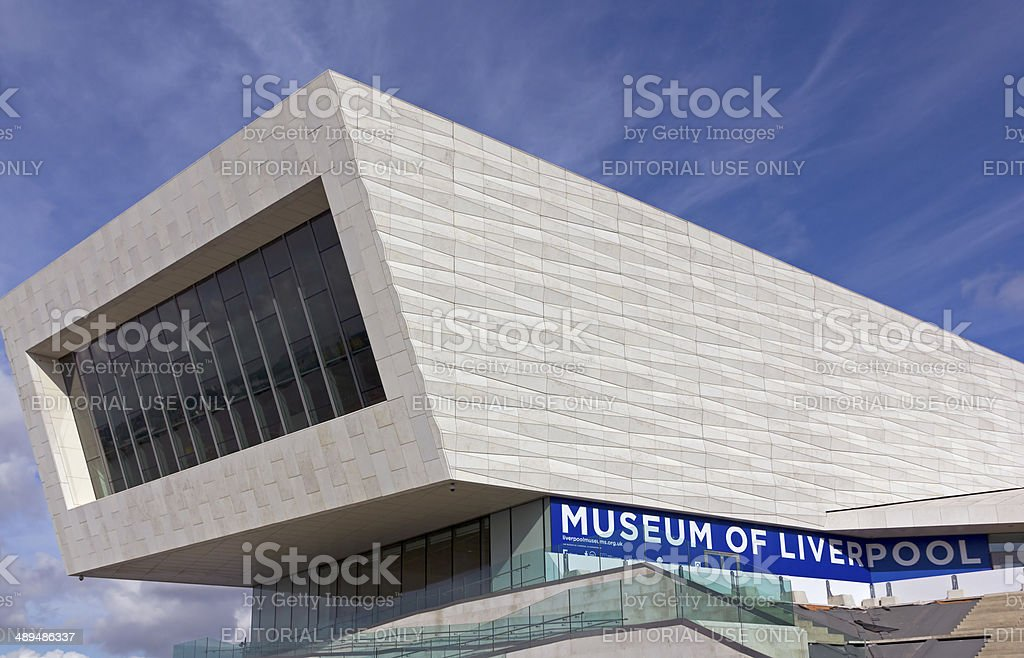 Museum of Liverpool stock photo