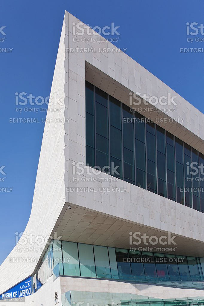 Museum of Liverpool - United Kingdom stock photo