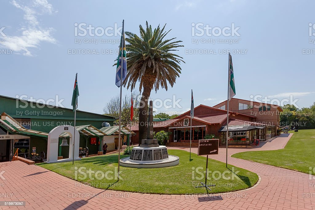 Museum of Military History in Johannesburg stock photo