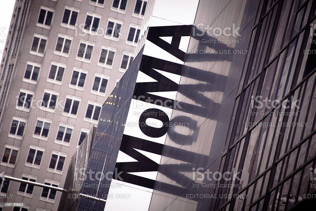 MOMA, Museum of Modern Art, New York stock photo