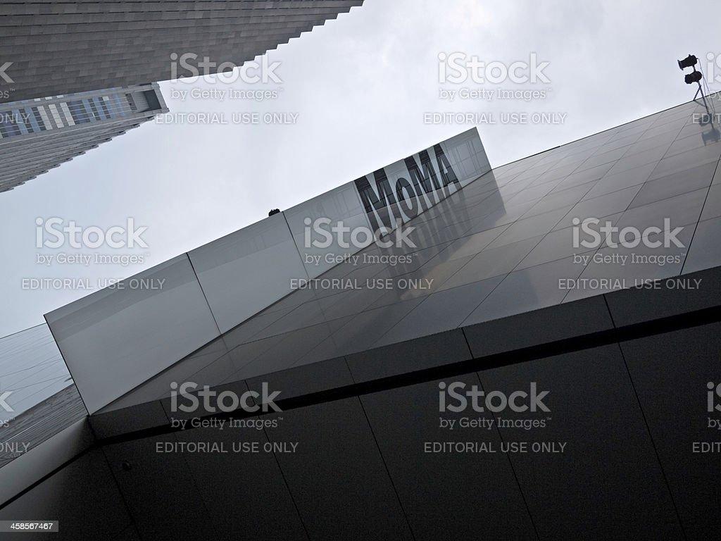 Museum of Modern Art, New York stock photo