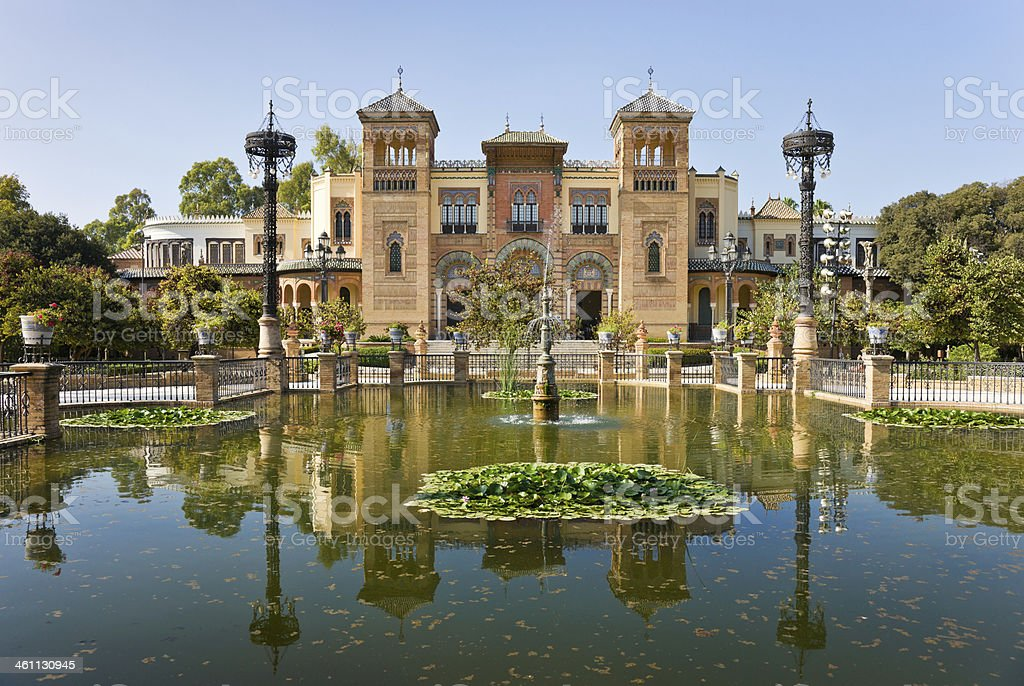 Museo De Artes Y Costumbres Populares in Seville, Spain stock photo