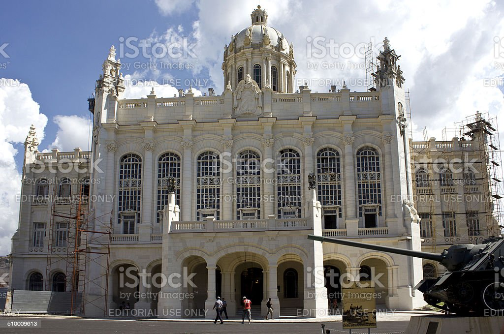 Museum of the Revolution, Havana stock photo